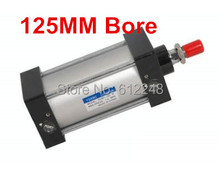 "Buy 40mm Bore 125mm Stroke G1/4"" SC40-125 Standard Pneumatic Cylinder SC 40*125 Adjustable Air Cylinders for $13.30 in AliExpress store"