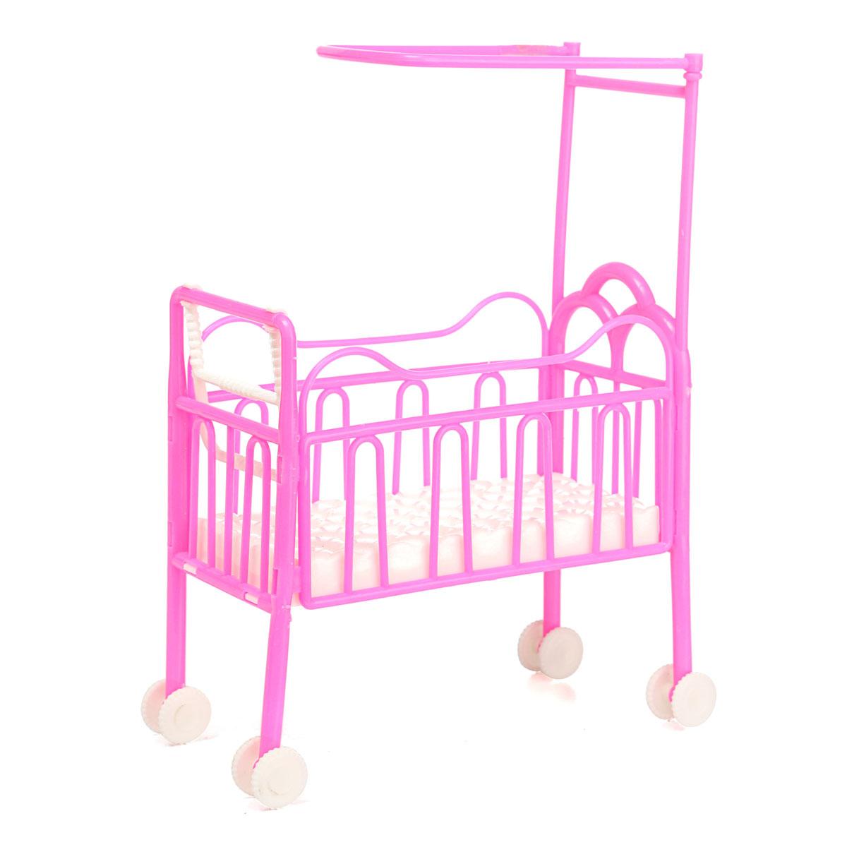 Dolls baby bed for princess dollhouse plastic mini cute - Sofas para ninas ...