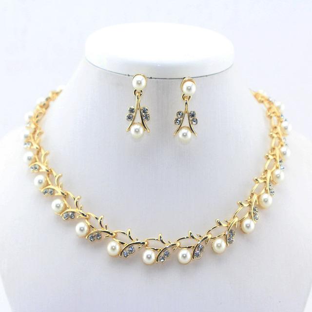 16 мода классический имитация перл позолоченные ясно топ элегантный ну вечеринку ...