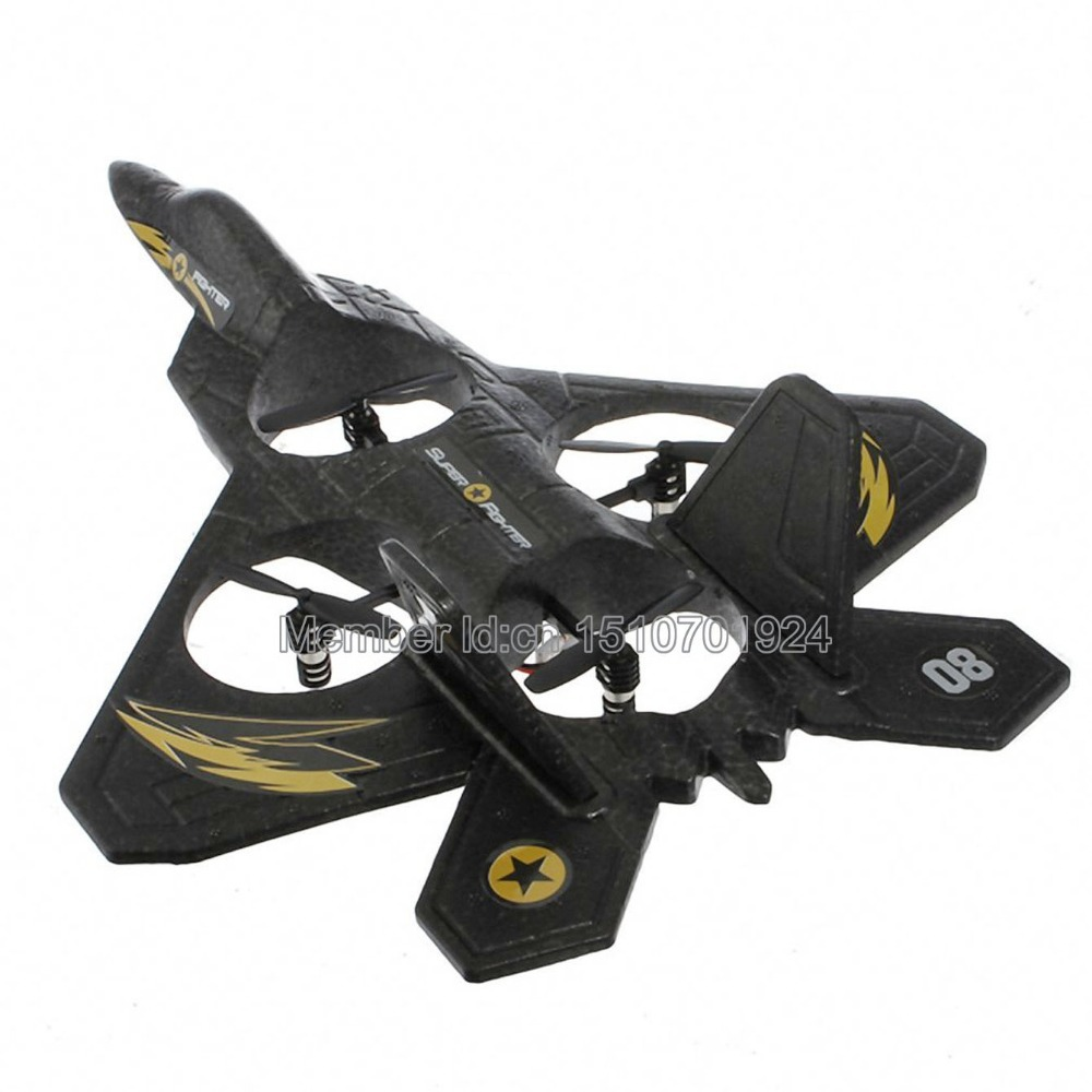 Sanlianhuan SH 6048 Ultimate F2 Predator Fighter Jet 2.4GHz 4CH Lightweight Drone GYRO RC Quadcopter. Free shipping.