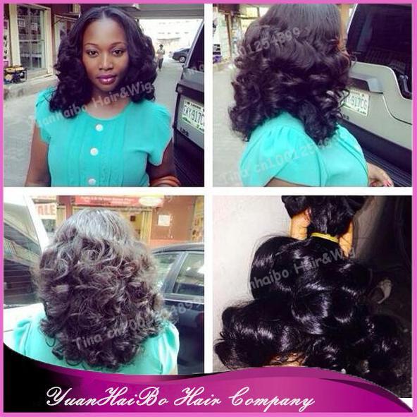 Top 7A Quality! #1b malaysian rose bouncy curls virgin funmi hair weaving for nigeria women 3pcs/lot free shipping<br><br>Aliexpress
