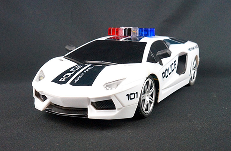 Remote Control Toys RC POLICE Car Electric Mini Radio Electronic Toy Boys Kid Christmas Gift Children Hobby 4CH 1:18 - DARREN OUTDOOR store