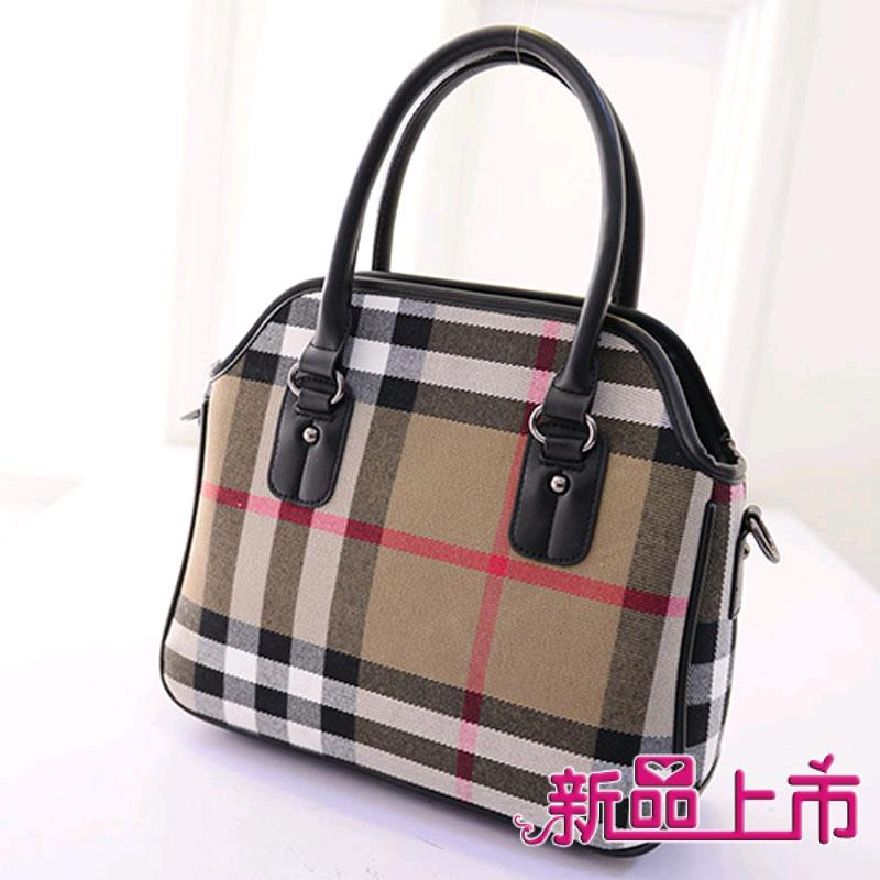 2015 british style casual canvas stripe fashion color shell women handbags,lady fashionable favorite messenger shoulder bag - fashional accessories store