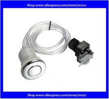New Spa/ Pool Pump Pneumatic Air button Switch kit for any remote control purpose sanitary equipment, automotive applications(Hong Kong)