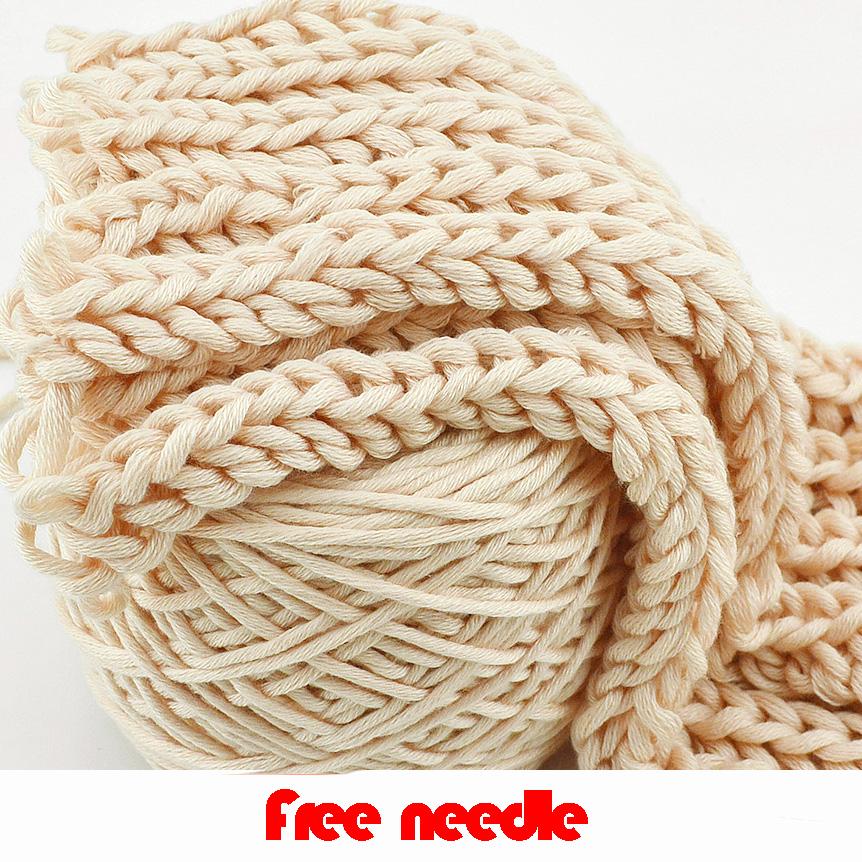 Hand Knitting Yarn : Wool Chunky Yarn Felt Wool Roving Soft Yarn for Spinning Hand Knitting ...