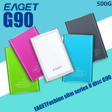 "Original EAGET G90-500GB Hard Disk USB3.0 2.5"" External Hard Drive Ultrathin Portable Mobile HDD Case Free Shipping(China (Mainland))"