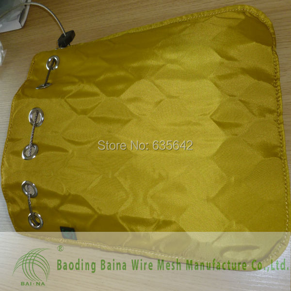 36x31cm stainless steel waterproof metal mesh bag for storage or transportation(China (Mainland))