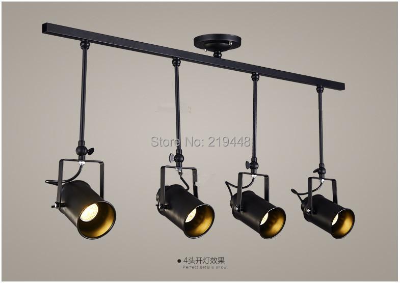 Купить Из светодиодов прожекторы американский промышленного коридора бар магазин одежды проход люстры огни зал початка трек