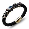 60 mm Diameter big fashion bracelet Bangles colorful cz round bracelet women new design Free shippment