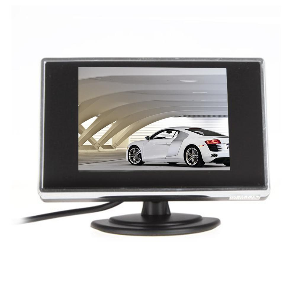 3.5 Inch TFT LCD Car Monitor Digital Car Rearview Monitor Car Parking Monitor for Car/Automobile and Vehicle Backup Cameras