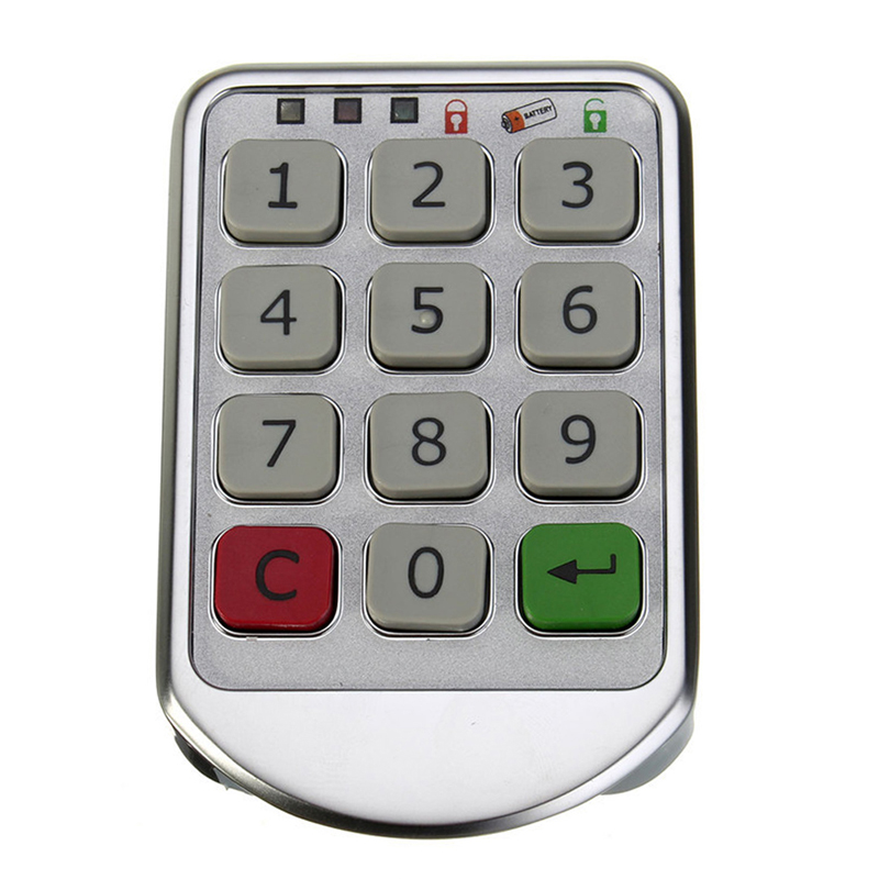 1 PCS Digital Electronic Password Keypad Number Cabinet Code Locks Intelligent E#CH(China (Mainland))