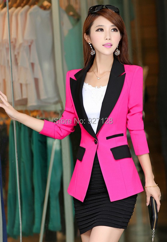 Collection Pink Blazer Womens Pictures - Reikian