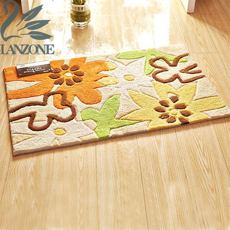 Encryption Acrylic Latex Back Carpet Mats Bedroom Door Mat Embroidery Carpet Japanese Mat Tatami Modern Carpets(China (Mainland))