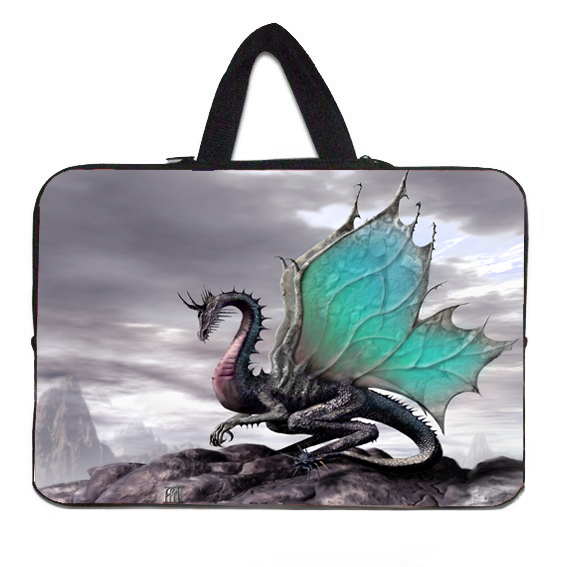 """Fly Dragon For Toshiba Acer HP Dell Samsung Asus Laptop 15"""" 15.4"""" 15.6"""" Neoprene Sleeve Case Cover Fashion Notebook Laptop Bags(China (Mainland))"""