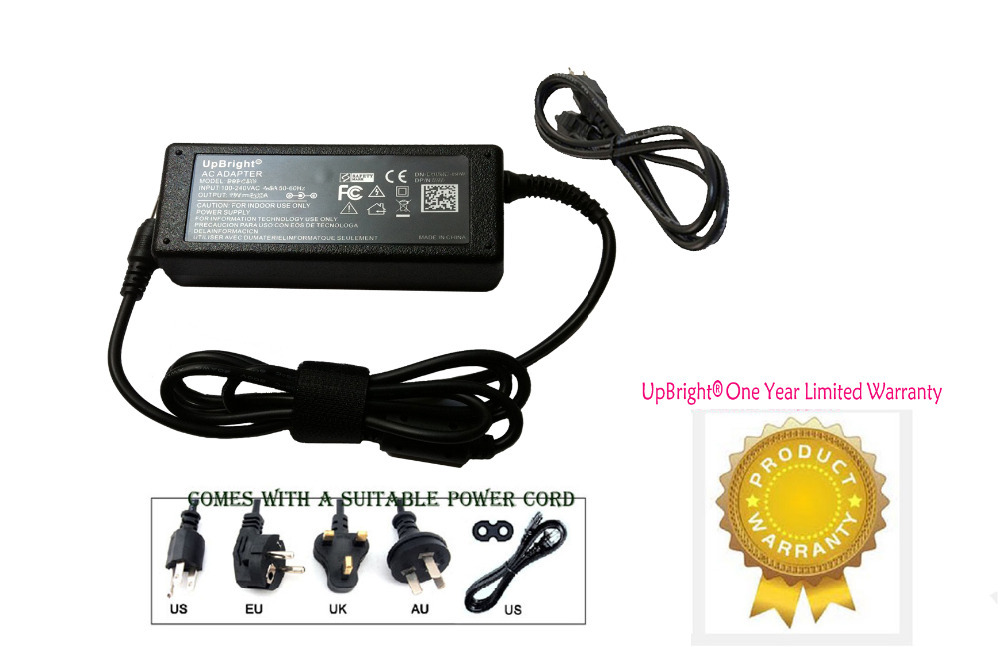 UpBright New AC / DC Adapter For Wacom Cintiq Companion DTH-W1300 DTH-W1300L Graphics Tablet PC Computer DTHW1300 DTHW1300L Cord(China (Mainland))