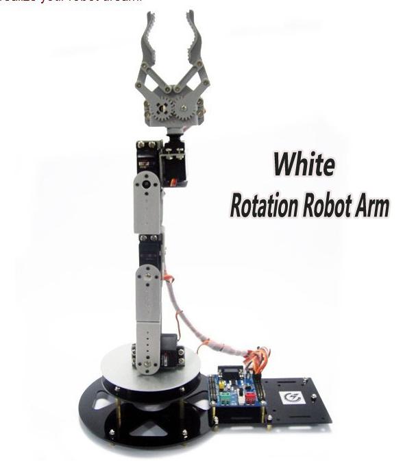 Aliexpress buy dof alloy robot arm clamp claw
