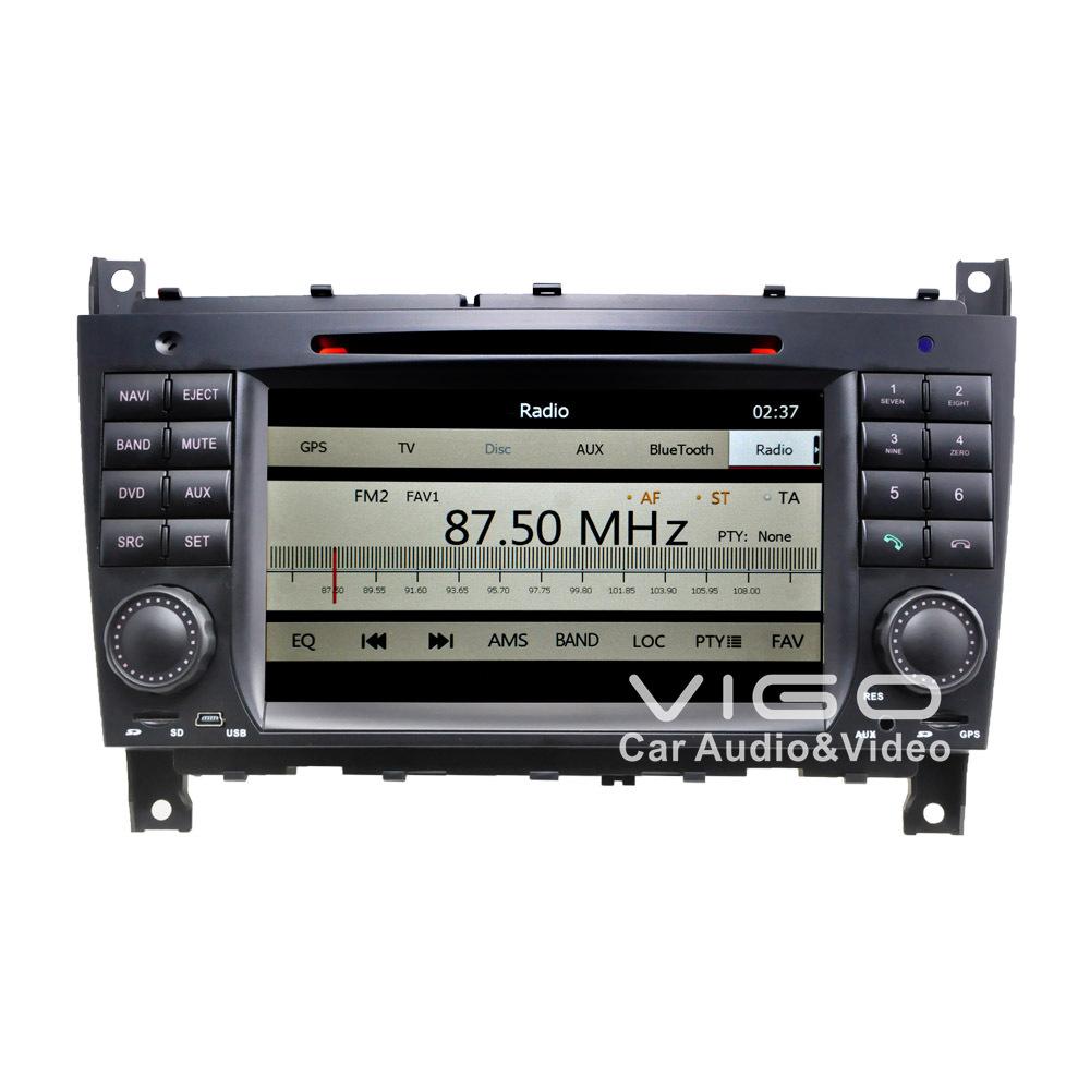 Car stereo gps navigation for mercedes benz c class w203 for Mercedes benz car stereo