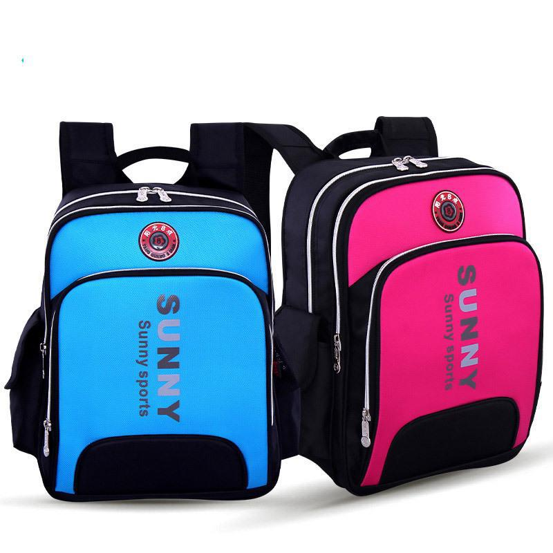 Retail High Density NyloPrimary School Bags Waterproof Children Backpacks Kids School bag Size 41*33*15cm Free Shipping A003(China (Mainland))