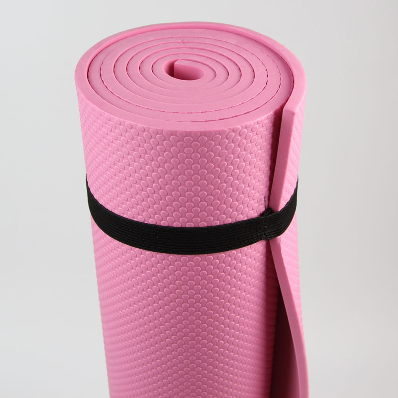 2019 Wholesale 6mm Thick Non Slip Body Building Yoga Mat