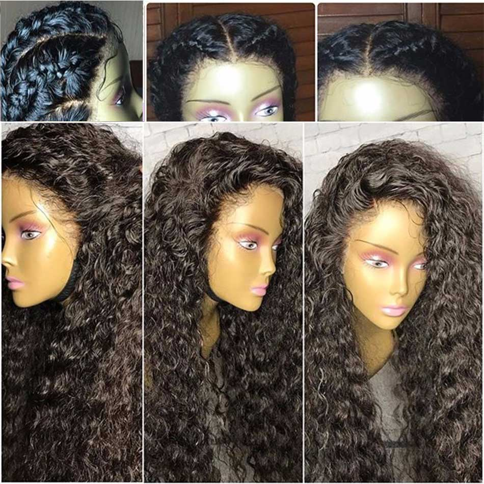 9A Full Lace Human Hair Wigs For Black Women Glueless Lace Front Human Hair Wigs Brazilian Hair Curly Full Lace Front Wigs