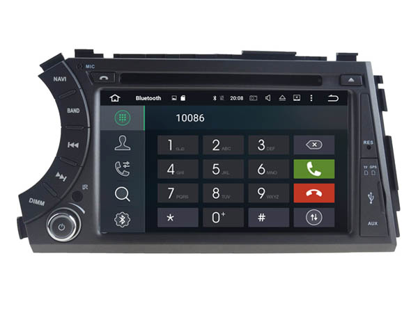 Android 6.0 CAR Audio DVD player FOR SSANGYONG Korando/Cyron gps Multimedia head device unit receiver BT WIFI