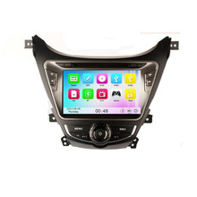 Wince 6.0 MT3360 3G WIFI HD 1080P Car DVD Player GPS Navigation System Radio Stereo For Hyundai MD Avante Elantra I35 2012 2013