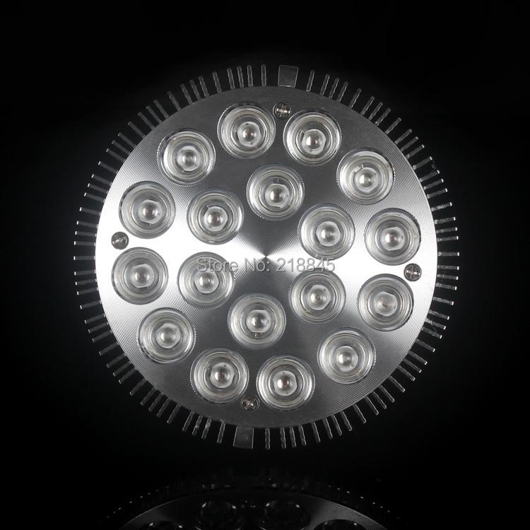 10 Piece Aqua Light 54W 12White 6blue Flexible Led Aquarium Light For Coral Reef Fish Tank Light Water Plant Bulb Lamp Dropshop(China (Mainland))