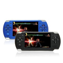 4.3 Inch 32 Bit Handheld Game Player Gaming Console 100 Kinds Games Russia 1000mAh Battery 4G MP4 MP5 Video Game Player PK X8 X9(China (Mainland))