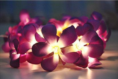 Flower Lights Diy Diy 20 Flower Christmas