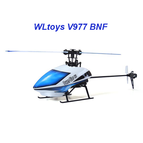 WL V977 6CH 2.4G BNF RC Helicopter Power Star X1 Brushless Flybarless 3D Aircraft without remote control without battery(China (Mainland))