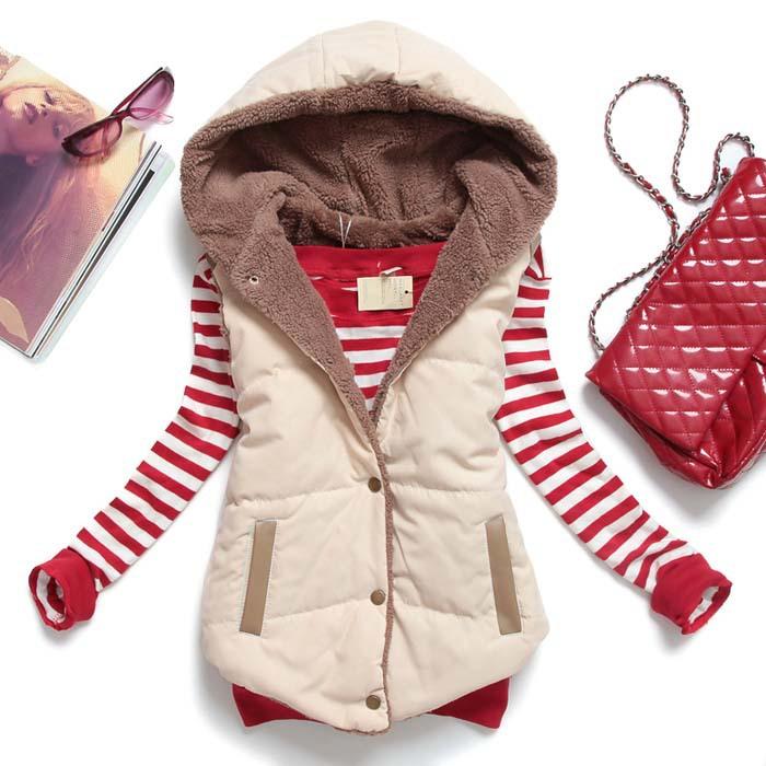2015 hot sale winter vest thick warm women jacket sleeveless waistcoat street style colete feminino plus size MJ1(China (Mainland))