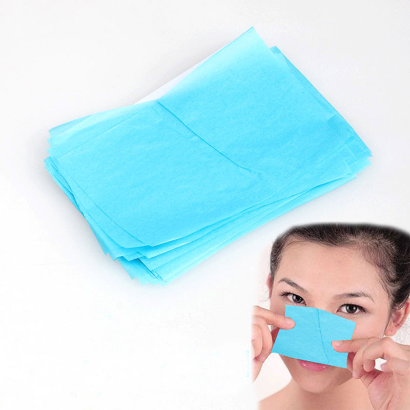 50 Sheets Face Tools Oil Absorbing Paper Face Paper Maquiagem Powerful Makeup Cleaning Facial Tissue
