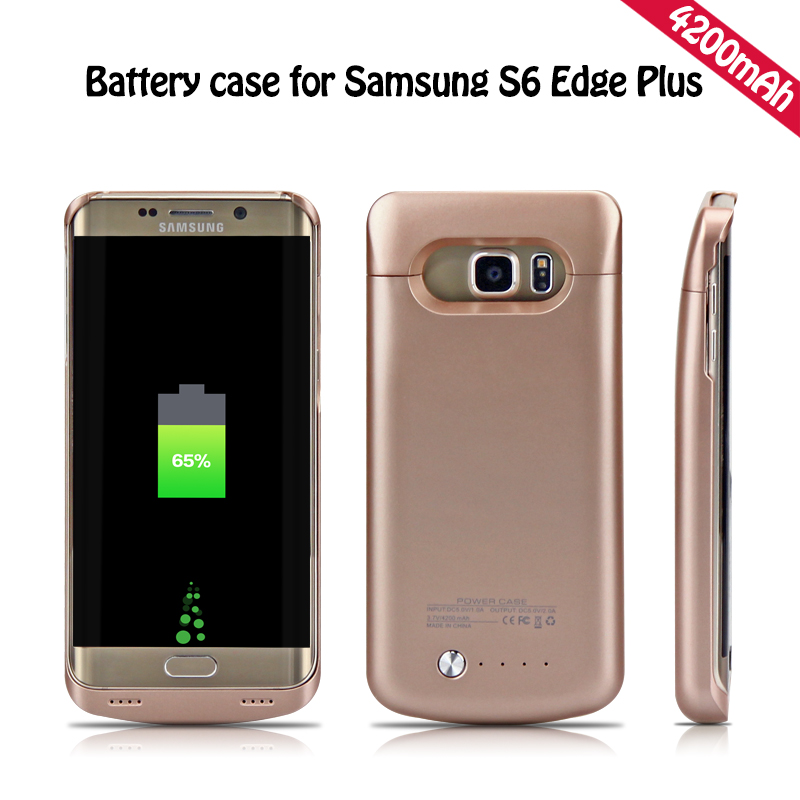 YOTEEN Extended 4200mAh Power Case For Samsung Galaxy S6 S6 edge Battery Case for Samsung S6 edge Plus Powerbank Charge Cover(China (Mainland))