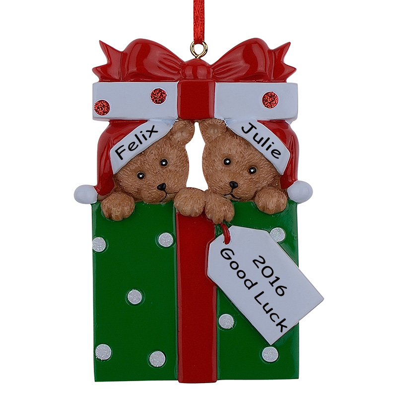 Online buy wholesale personalized christmas ornaments from for Customized photo christmas ornaments