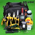 KELUSHI 30 in 1 Fiber Optic FTTH Tool Kit HS 30 Cleaver Power Meter 10mW Visual