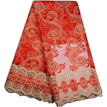 Buy French Net Lace Fabric 2017 Latest African Net Lace Fabric Embroidery Mesh Nigerian Tulle Lace Fabric Stone for $44.00 in AliExpress store
