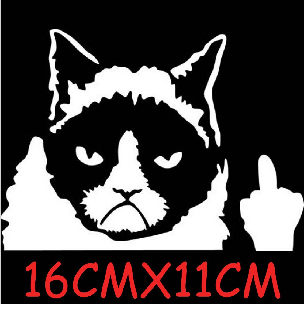 whimsy The Bad cat reflective stickers for cars motorcycles funny stickers decal styling decoration car accessories sticker<br><br>Aliexpress