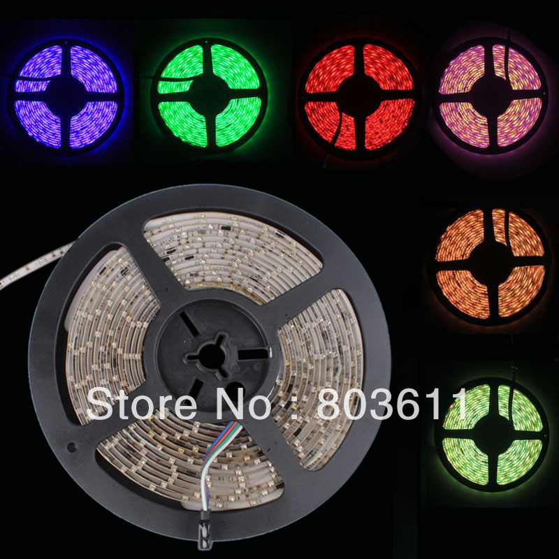 LED Flexible LEDLight Strip+ Controller+44 key Remote Control+Adapte US single color two color combination flash household(China (Mainland))