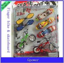 Hot sale! Children toy bike models alloy finger bicycle Creative Toy finger skateboard Free Shipping(China (Mainland))