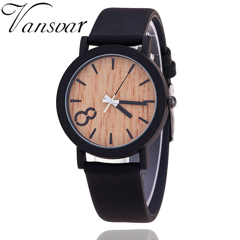 2016 Simulation Wooden Relojes Quartz Women Watch Casual Wooden Color Leather Strap Watch Wood Male Wristwatch Relogio Masculino(China (Mainland))