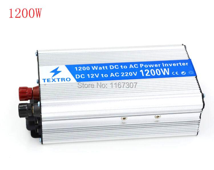 цена  Инвертирующий усилитель мощности Singpost 1200W DC 12 v AC 220 v  онлайн в 2017 году