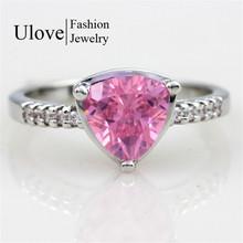 Mystic Topaz Jewelry Silver Ring 925 Korean Wedding Rings CZ Diamond Jewellery Anel Feminino Ruby Jewellery