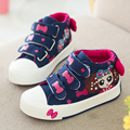 YEESHOW 2017 Spring New Kids Shoes Breathable Canvas Girls Shoes Chaussure Enfant Wearable High Sneakers For