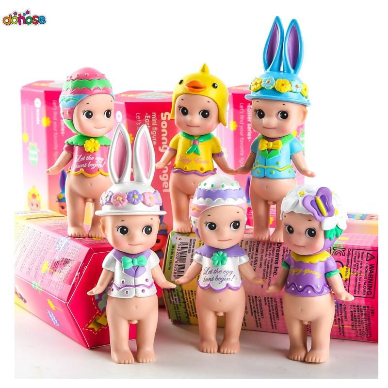 Japan Anime Sonny Angel Figure Doll Happy Easter Series Action Figure PVC Collection Model Kids Toy Doll(China (Mainland))