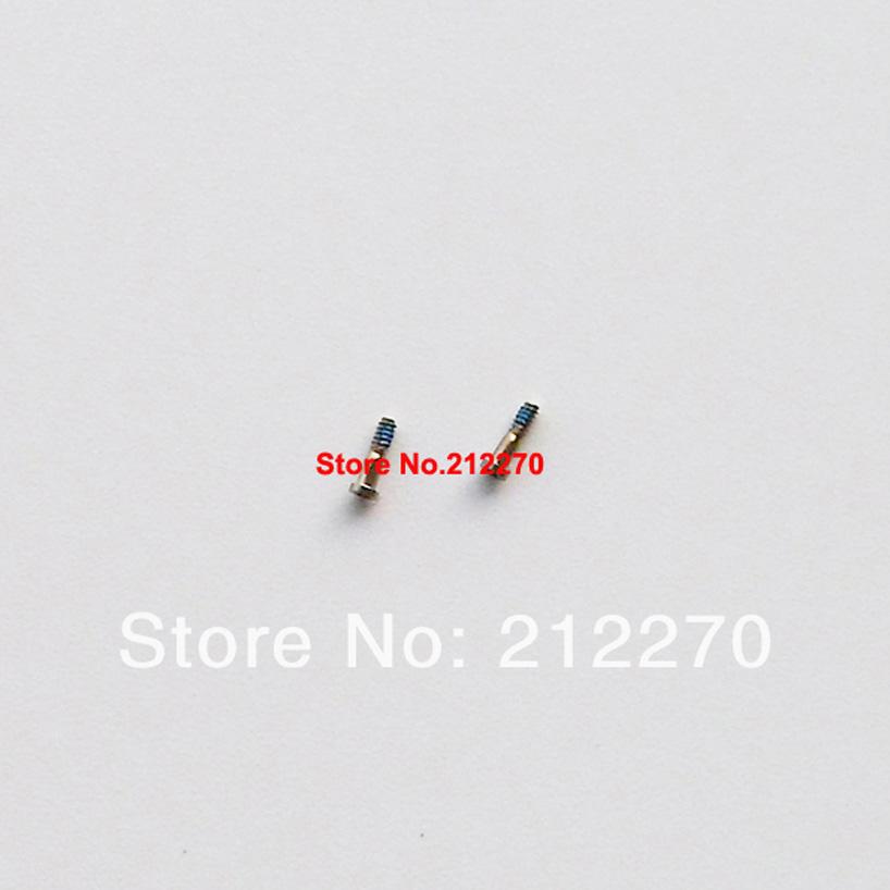 Original New Gold Five Star Pentalobe Dock Connector Bottom Screw For iPhone 5S Wholesale