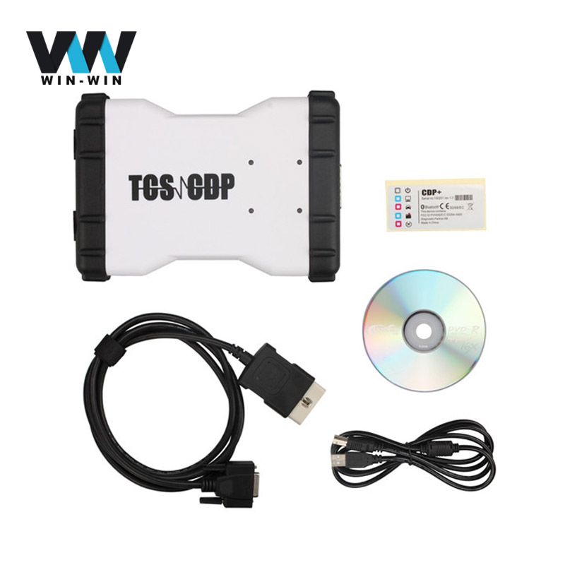Proffesional TCS CDP PRO 2014.R2 Bluetooth Diagnostic Tool TCSCDP Cars Trucks Scanner - Win-Win Store store