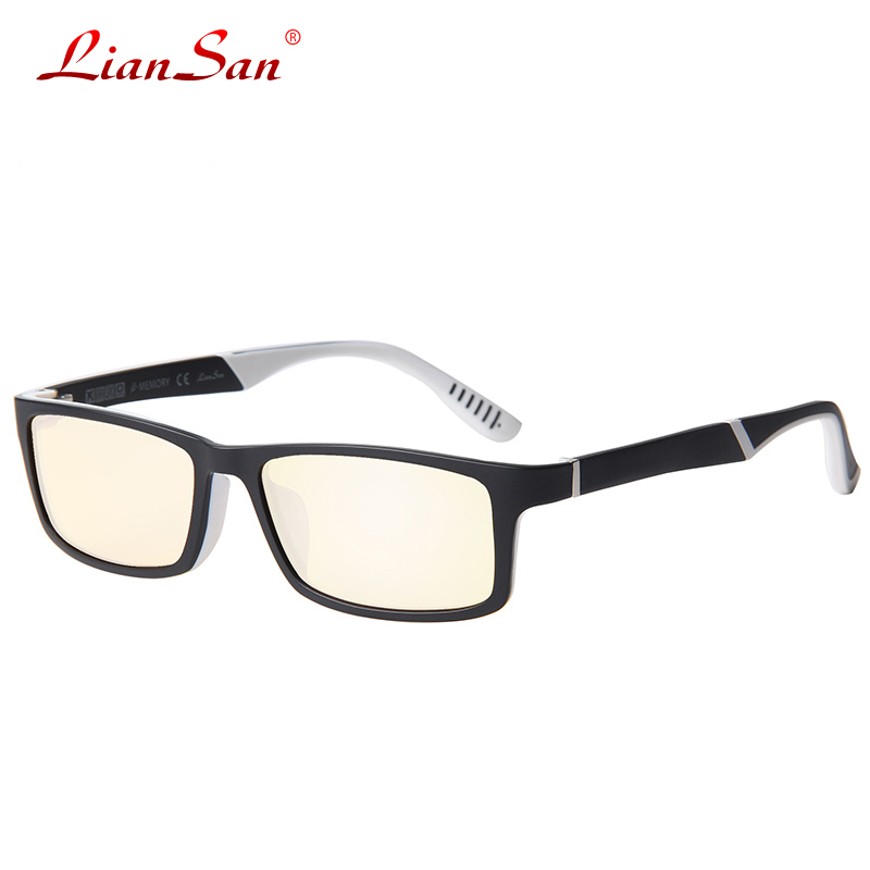 2016 New Lightweight TR90 Anti Blue Glasses Goggles Male ...