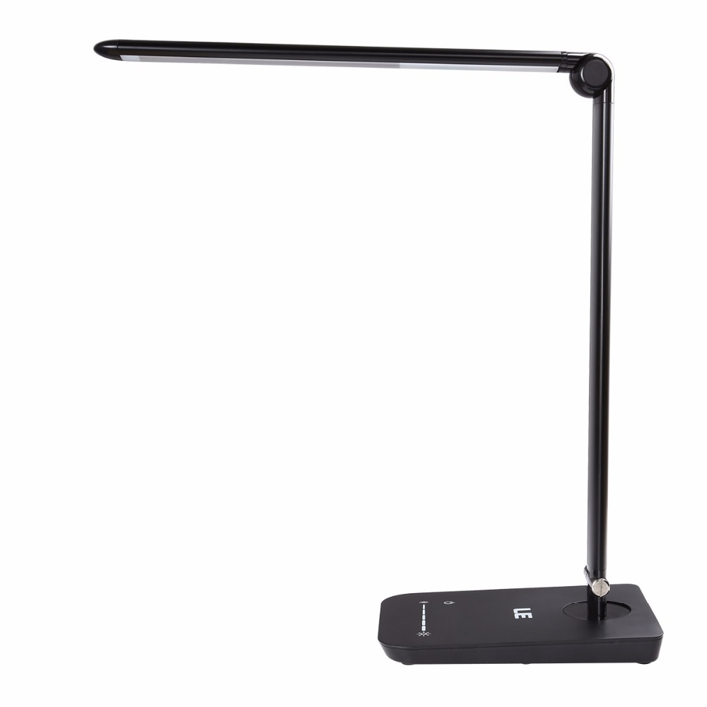 le 8w dimmable led desk lamp 7 level brightness touch sensitive. Black Bedroom Furniture Sets. Home Design Ideas