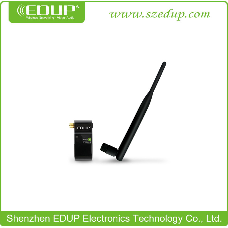 EDUP EP-MS8512 300Mbps High-Definition TV Wireless wifi USB Adapter/Net Card/Dongle with 6dBi Antenna and Realtek8191SU Chipset(China (Mainland))