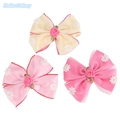 10pcs lot Korea Style Hairpins Girls Lace Bow knot Rose Floral Hair Clips Kids Hair Styling